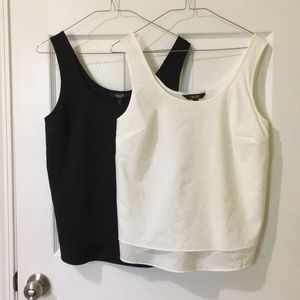 Simply Vera Wang Shell Tanks Scoop Neck Drapey